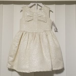 1 set carter's dress 18 mos. brand new